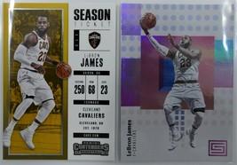 2017-18 LEBRON JAMES Panini Basketball Cards - $8.00