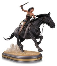 Wonder Woman on Horse Horseback Deluxe Movie Statue DC Comics NEW IN BOX - $481.23