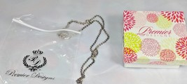 "Premier Designs NECKLACE ""Keep It Personal"" 20512 16"" Chain 4"" Extender ... - $21.95"