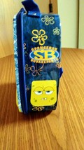 SpongeBob SquarePants Tin Lunch Box Front & Back Straps 2008 New Kids Lunch Box image 4