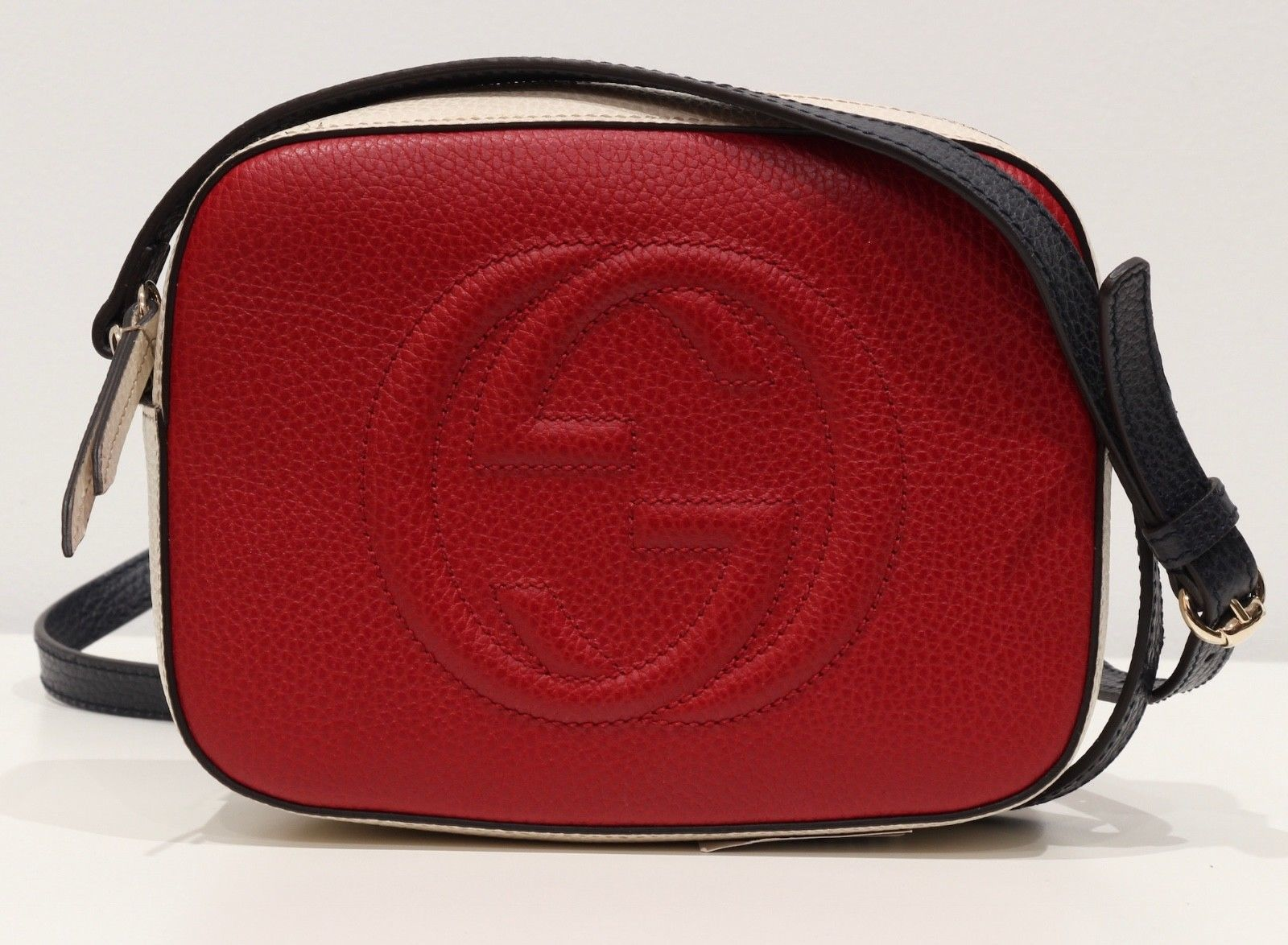 dc2e25b4824 GUCCI 431567 Multicolor Soho Leather and 49 similar items