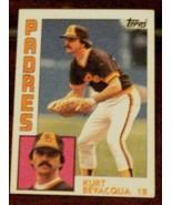 Kurt Bevacqua, Padres,  1984 #346 Topps  Baseball Card - GD COND - CLASS... - $3.95