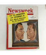Newsweek Magazine October 10 1960 Richard Nixon and John F. Kennedy No L... - $57.00