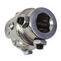 """Forged Stainless Steel Yokes Steering Shaft Universal U-Joint 3/4"""" DD To 3/4"""" DD image 9"""