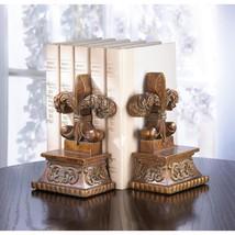 Bookends Decorative, Fleur-de-lis Personalized Cute Kids Bookends For Books - £18.55 GBP