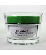 Seacret Dead Sea Rehydrate Vitamin-Rich Night Cream Age Defying 1.7 FL O... - $49.48