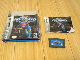 Metroid Fusion (Nintendo Game Boy Advance, 2002) US, Box & Instructions - $37.22