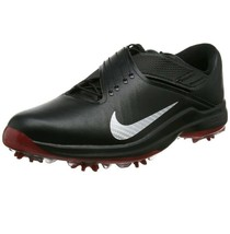 Nike TW 17 Tiger Woods Golf Shoes Black/Red 880955-001 Size 11 US - $89.09