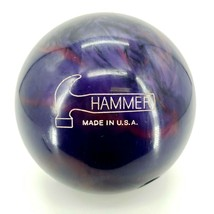 Hammer RAZYR Pre Drilled 13.6Lbs Bowling Ball Purple 8F121344A - $140.21