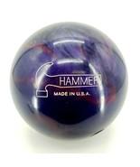 Hammer RAZYR Pre Drilled 13.6Lbs Bowling Ball Purple 8F121344A - $140.21