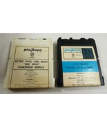 WB Warner Bros. 2 pc. Playtape Cartridge Peter Paul and Mary  USA/Japan - $45.54