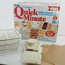 Vintage Quick Minute Microwave Dehydrator by Emson in Box, 1998 (bo) - $9.90