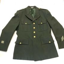 Us Army Corporal Dress Coat/Pants DSCP Valor Green Military VTG - $79.19