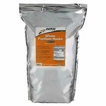 NOW Supplements, Whole Psyllium Husks, Non-GMO Project Verified, Soluble Fibe... - $88.87