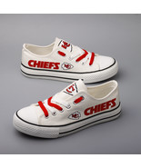 kc chiefs shoes womens chiefs sneakers Weddings shoes kansas city fans c... - $59.99