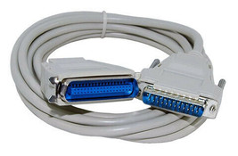 10' Centronics-M to DB25-M, Printer Cable,  - $7.40