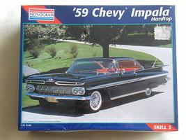 FACTORY SEALED Monogram '59 Chevy Impala Hardtop #2454 - $51.47