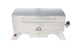 Pit Boss Grills PB100P1 Pit Stop Single-Burner Portable Tabletop Grill - £39.02 GBP