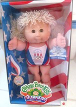 """Cabbage Patch Kids OLYMPIKIDS Doll Swimming '96 Spec Ed """"JADE IONE"""" Born... - $79.15"""