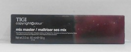 New Pkg TIGI MIX MASTER Pure Pigment Professional Permanent Hair Colour  2.0 oz! - $5.19+