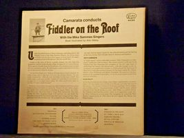 Fiddler on the Roof Record  AA-191744  Vintage Collectible image 7