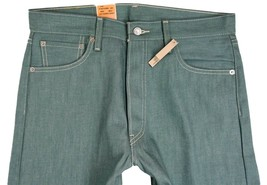 NEW NWT LEVI'S 501 MEN'S ORIGINAL FIT STRAIGHT LEG JEANS BUTTON FLY 501-1209 image 2