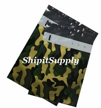 2-1000 9x12 10x13 ( Camo ) Color Camouflage Poly Mailers Fast Shipping - $1.49+