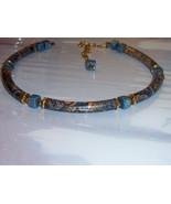 Vintage Japanese Necklace. Stamped Japan. Hook Clasp. Asian Necklace. - $13.00