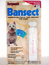 Sergeant's Bansect Sqeeze-On Flea & Tick Control Kills & Repels For Dogs - €4,44 EUR