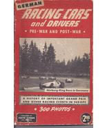 German Racing Cars and Drivers Pre-War and Post War 1950 by Gunther Molter - $24.95