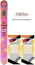 Sally Hansen I Heart Nail Art Decal Kit #620 (PACK OF 2) Plus a Free Nail Fil... - $11.75