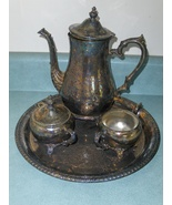 Vintage I.S. CO International Silver CO Teapot ... - $79.00