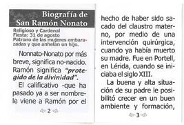Oraciones a San Ramon Nonato image 3