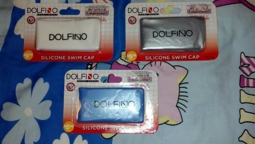 DOLFINO SPORT SERIES SILICONE SWIM CAP - FIT ALL - ONE PACK [Misc.]