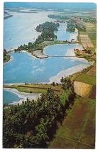 Vietnam Qui Nhon Coastal Plain Aerial View Binh Dinh Province Vintage Po... - $5.69