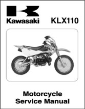 Kawasaki KLX110 Service Repair Workshop Manual CD   -   KLX 110 - $12.00