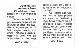 Oraciónes a San Antonio de Padua image 3