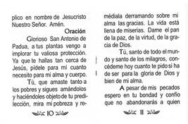 Oraciónes a San Antonio de Padua image 4