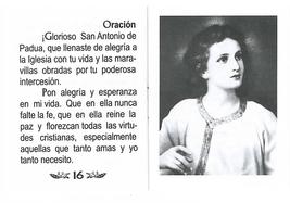 Oraciónes a San Antonio de Padua image 5