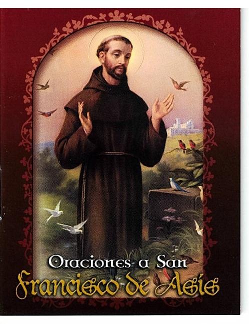 Oraciones a san francisco de asis s247 001