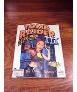 Tomb Raider III Official Strategy Guide Book, from Dimension Publishing ... - $6.95