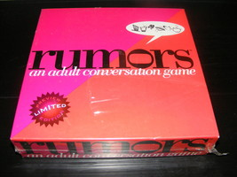 1997 Rumors An Adult Conversation Game NEW - $30.00