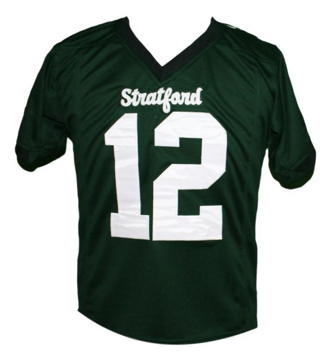 Andrew Luck #12 Stratford High School New Men Football Jersey Green Any Size
