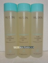 Three pack: Nu Skin Nuskin Pure Cleansing Gel (Combination to Oily) 150ml 5oz x3 - $60.00