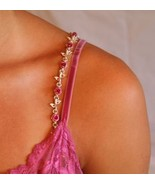 Bra Straps -  Pink flowers for everyday wear   NEW in box - $8.99