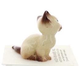 Hagen-Renaker Miniature Cat Figurine Siamese Mama Chocolate Point image 2