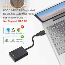 USB to HDMI Adapter,ABLEWE USB 3.0/2.0 to HDMI 1080P Video Graphics Cable Conver image 3