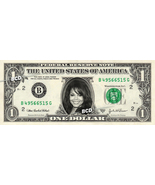 JANET JACKSON on REAL Dollar Bill -  Collectible Celebrity Cash Gift Money - ₹316.11 INR