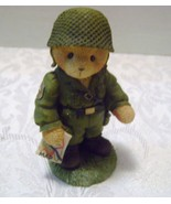 Enesco Cherish Teddy Soldier - Great Friendships Make A Soldier Stand tall - $10.00