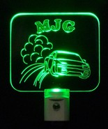 Kids Personalized Car Drifting LED Night Light with Name - $24.00